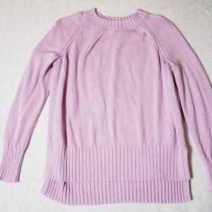 Lilac Purple Long-sleeve Sweater
